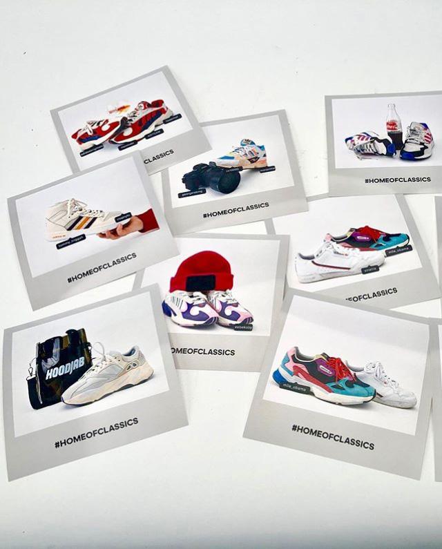 Un photocall de Sneakers orignal !