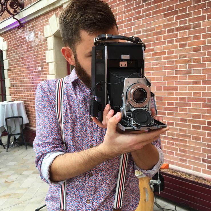 Pola Vintage, tout est rétro, l'appareil et le photographe !